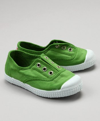 Grass Green Canvas Sneaker