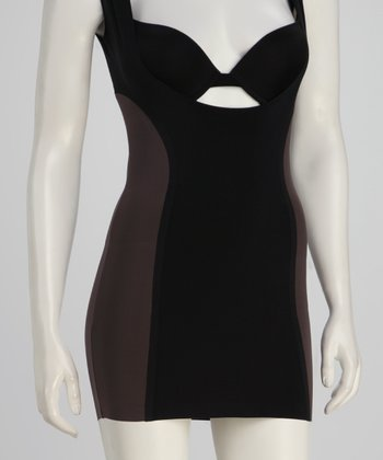 Black Eclipse Shaper Under-Bust Slip - Women