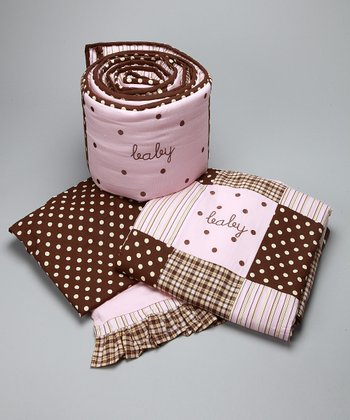 Pink Mad About Plaid Bedding