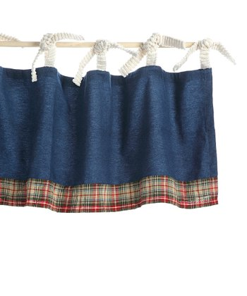 Denim Patchwork Valance