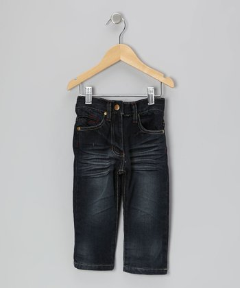 Dark Wash Straight-Leg Jeans - Infant, Toddler & Kids
