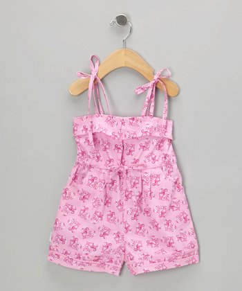 Pink Persia Heart Romper - Infant, Toddler & Girls