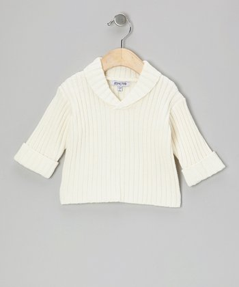 Winter White Pullover - Infant & Toddler