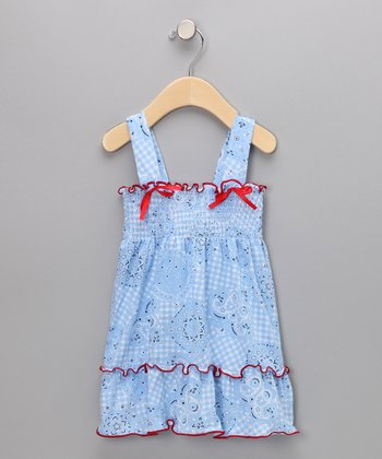 Country Baby Pow Wow Smocked Dress - Infant & Toddler