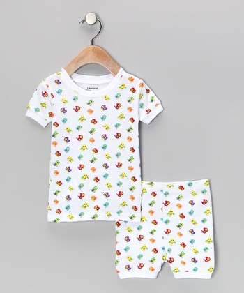 White Bird Pajama Set - Infant, Toddler & Kids