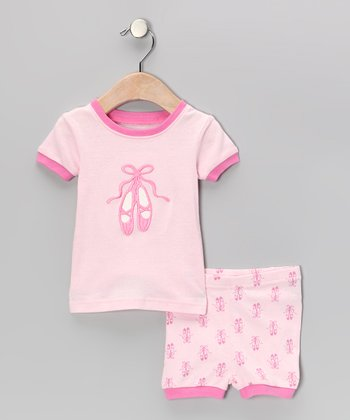 Pink Ballet Pajama Set - Infant