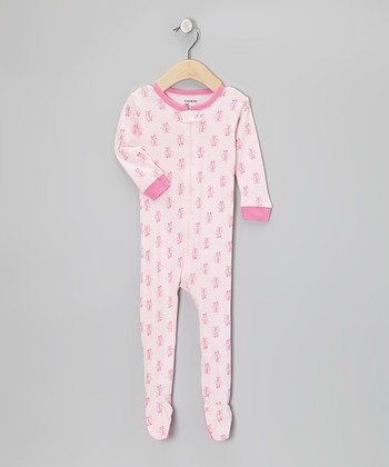 Pink Ballerina Footie - Infant, Toddler & Girls