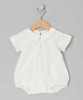 Cream Collar Bodysuit - Infant
