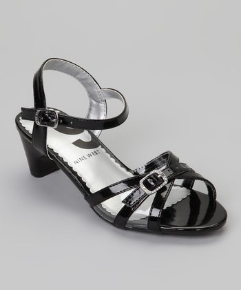 Black Fairytale Sandal