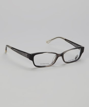 Gray & Smoke Rectangular Glasses