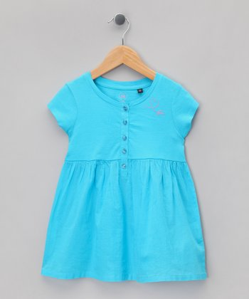 Lagoon Heart Tunic - Girls