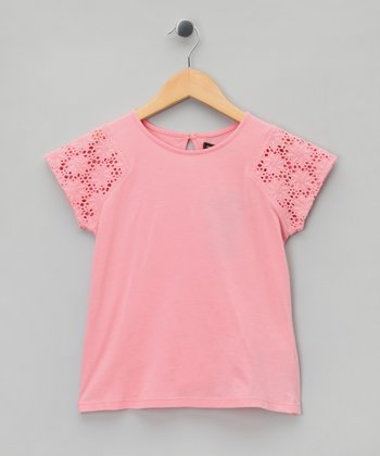 Rose Starburst Tee - Girls