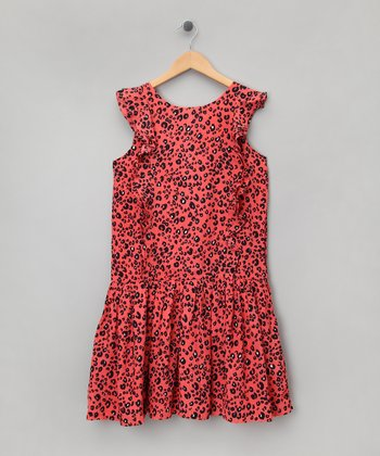Holiday Crush Floral Dress - Girls