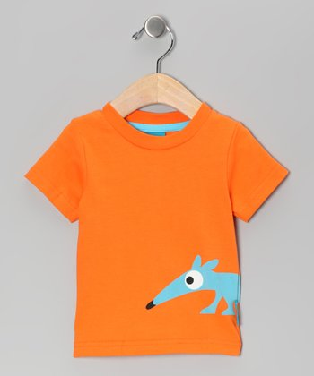 Orange Anton the Anteater Tee - Toddler & Boys