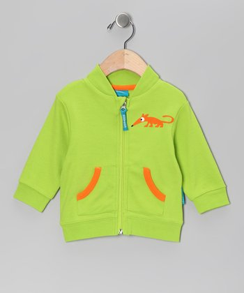 Green Anton the Anteater Jacket - Infant & Boys