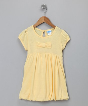 Yellow Bubble Dress - Infant