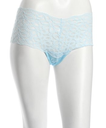 Blue Lotus Lace Maternity Hipster - Women