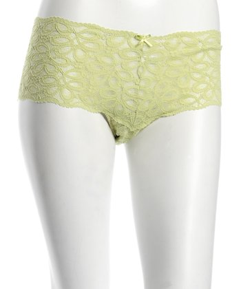 Green Lotus Lace Maternity Hipster - Women