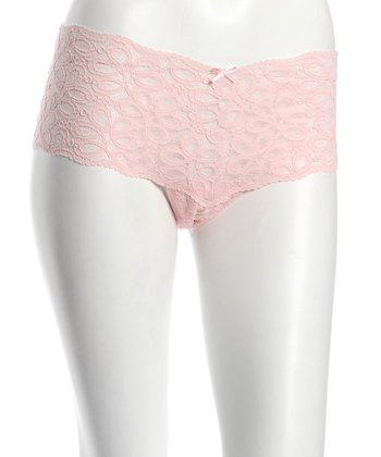 Pink Lotus Lace Maternity Hipster - Women