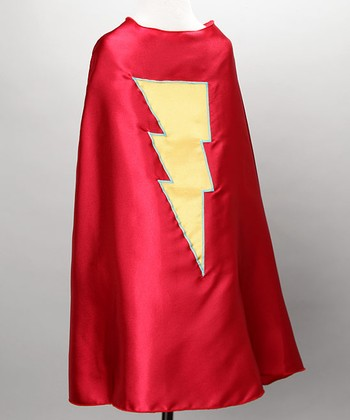 Red & Yellow Lightning Cape