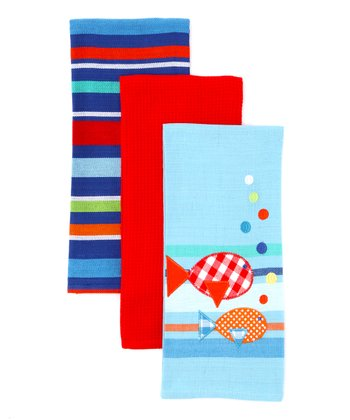 Summer Fun Dish Towel Set