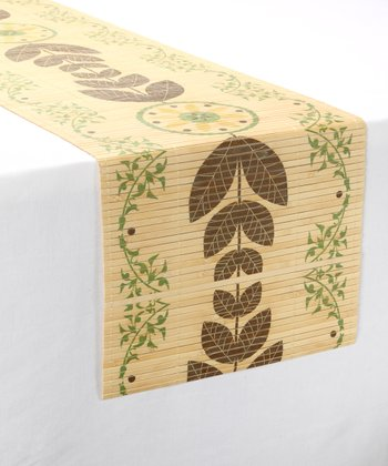 Flourish Bamboo Table Runner