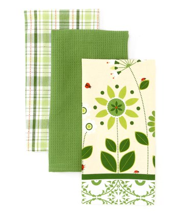 Garden Gate Dish Towel Set