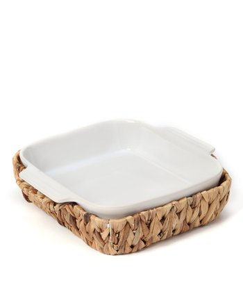 Square Baking Dish & Basket