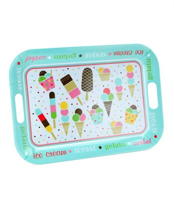 Melamine Ice Cream Tray