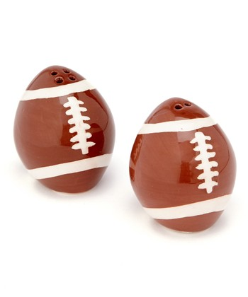 Football Salt & Pepper Shakers
