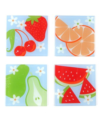 Fruit Salad Coaster Set