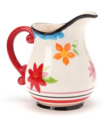 Carnival Stripe Pitcher