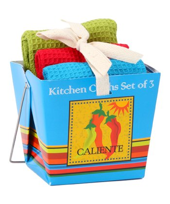 Caliente Takeout Dishcloth Set