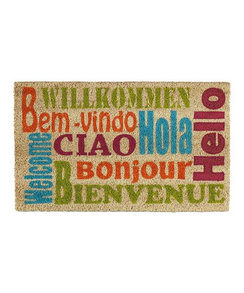 Small World 'Welcome' Doormat