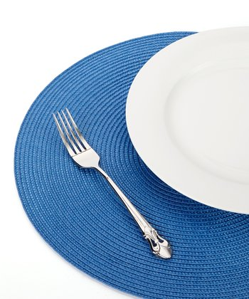 Blue Ocean Braided Place Mat - Set of Six