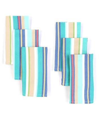 Stripe Napkin - Set of Six