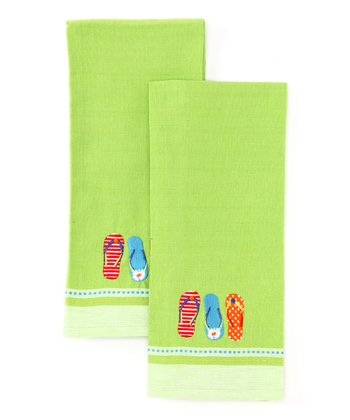 Flip-Flop Dish Towel - Set of Two