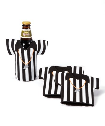 Game Day Tailgate Referee Bottle Cooler - Set of Three