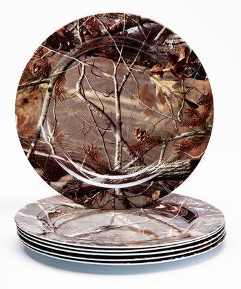 Real Tree 10'' Plate - Set of Six