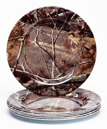 Real Tree 8'' Plate - Set of Six
