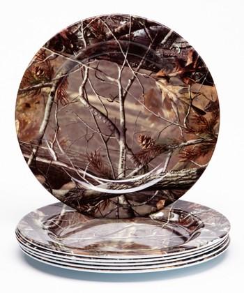 Real Tree 8'' Plate - Set of Six
