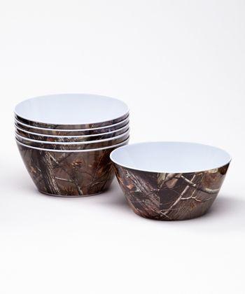 Real Tree Bowl - Set of Six