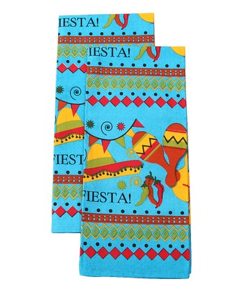 Fiesta Dish Towel - Set of Two