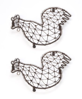 Hen Trivet - Set of Two
