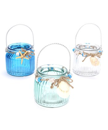 Jar Candleholder Set