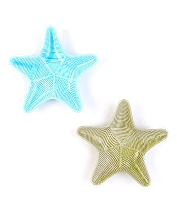 Starfish Plate Set