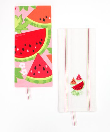 Juicy Melon Dish Towel Set