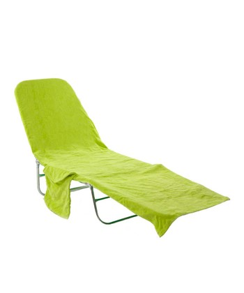 Lime Lounge Chair Cover
