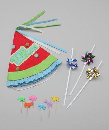 Red Birthday Circus Set