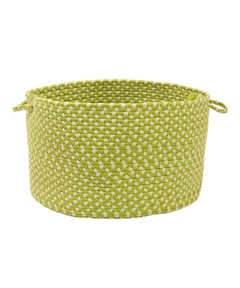 Lime Twist Montego Utility Basket